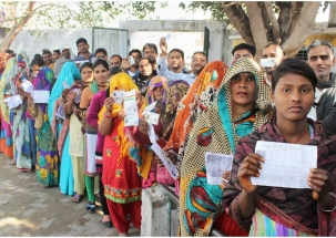 Lok Sabha Election: 50.77% voter turnout recorded till 4 pm in Phase 6