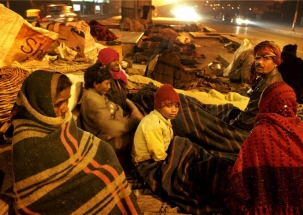 Over 300 homeless people died due to cold conditions in Delhi
