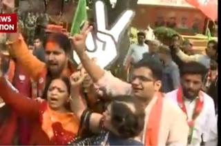 Bjp PKG NN: Sensex crosses 29561 points post BJP win in UP and Uttarakhand