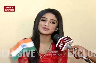 Serial aur Cinema: 'Ek deewana tha' actress Donal Bisht celebrates R-Day with News Nation
