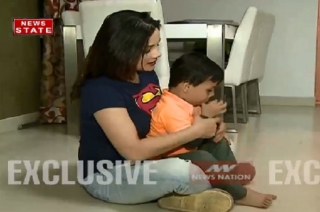 Watch TV actress Kanica Maheshwari spends time with her kid