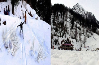 Hill stations of Kashmir and Uttarakhand become favourite tourist spot in hot summer