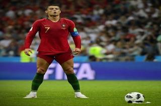 GOAL: Ronaldo bags hattrick as Portugal draw against Spain in world cup