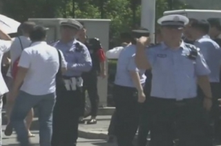 China: Explosion near US embassy in Beijing