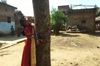 Bihar: Girl tied to tree, thrashed for eloping with man from another caste