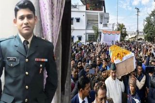 IED blast: Dehradun bids adieu to Army Major Chitresh Singh Bisht