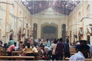 10 killed, 150 injured as serial blasts rock Sri Lanka on Easter