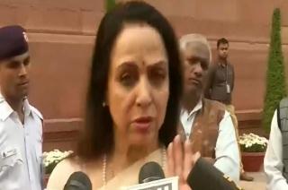 Mathura Under Monkey Terror, Here's What Hema Malini Says