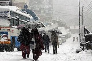 Winter arrives early in Himachal Pradesh