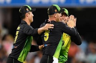 Stadium: Australia win by four runs, lead series by 1-0