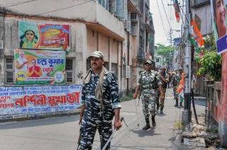 TMC office in Kolkata vandalised, BJP workers accused