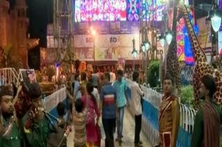 Durga Puja:  Kolkata dazzle with unique and colourful pandals