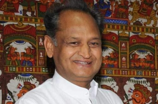 Congress leader Ashok Gehlot takes oath as Rajasthan Chief Minister