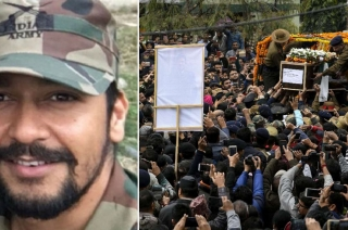 Pulwama encounter: Dehradun bids teary-eyed adieu to Major Dhondyal