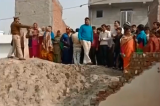 Noida: Two children died after school wall collapses