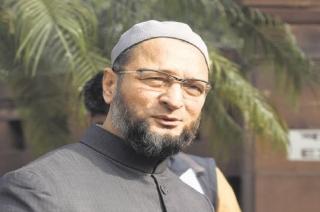Asaduddin Owaisi's reaction on 'Vande Mataram' slogan in Lok Sabha