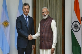 PM Modi holds joint press conference with Argentina President Macri
