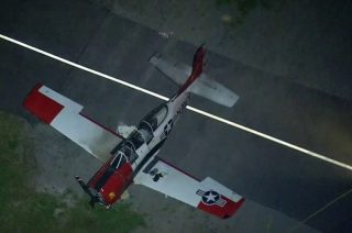 Two planes collide at California airport in USA, 1 killed