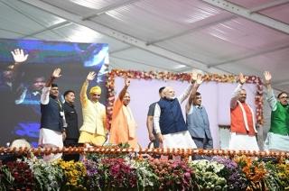 PM Modi inaugurates development projects worth Rs 2,400 crore in Varanasi