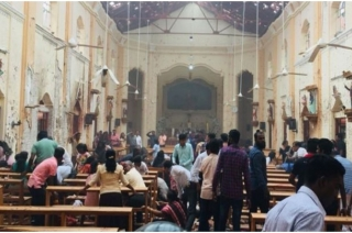 Eighth explosion in Sri Lanka, a suicide blast, kills three more