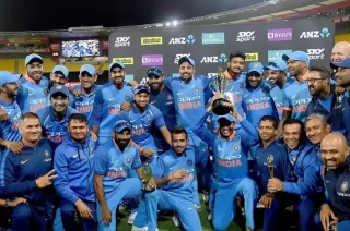 Stadium: India beat New Zealand to win five-match ODI series 4-1