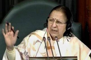 Sumitra Mahajan is one of the longest-serving women MPs
