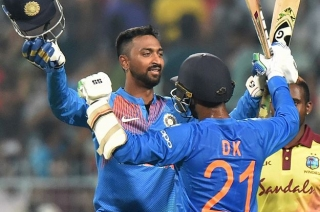 India beat West Indies by 5 wickets in first T20I