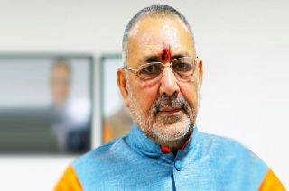 BJP leader Giriraj Singh 'hurt' on not getting ticket from Nawada
