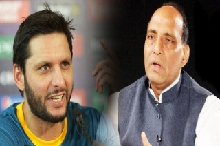 Shahid Afridi right in saying that Pakistan doesn't need Kashmir, says Rajnath Singh