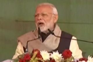 PM Modi attacks Congress in Rae Bareli