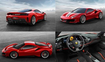 Ferrari's most powerful V8 engine beast 488 Pista revealed; See pictures!