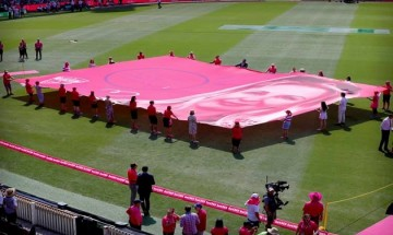 Sydney Cricket Ground coloured in Pink for India vs Australia Test