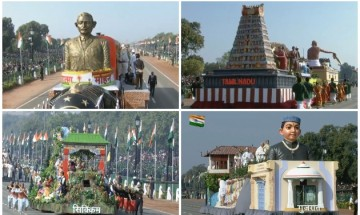 Mahatma Gandhi dominant in tableaus at Republic Day parade