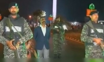 First visuals of brave IAF pilot Abhinandan after reaching India
