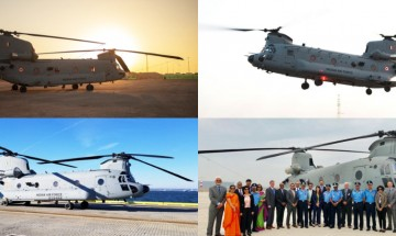Capable of transporting howitzers, IAF inducts Chinooks in chopper squadron