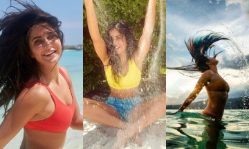Watch Katrina Kaif hitting the beach to find 'peace within' in sizzling swimwear