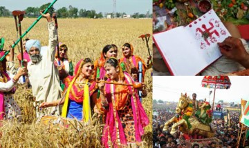 How the harvest festival represents diverse colours and cultures of India