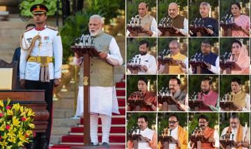 In pictures: Narendra Modi swearing-in ceremony