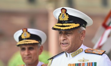 In Pics: Admiral Karambir Singh assumes charge as new chief of Naval Staff