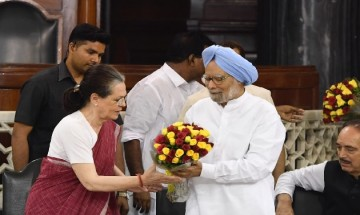 In Pictures: Sonia Gandhi elected Congress Parliamentary Party leader