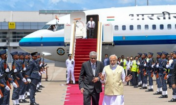 From holding bilateral talks to planting trees - a look back at PM Modi's Lanka visit