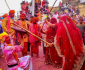 Nandgaon's Lathmar Holi: Where women playfully beat up men with sticks