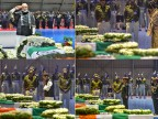 PM Modi, Rahul Gandhi lay wreaths on mortal remains of CRPF jawans