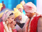Neeti Mohan and Nihaar Pandya's weddings pictures look every bit as a fairy tale