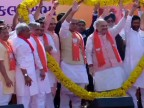 BJP's show of strength at Amit Shah's filing of nomination