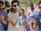 Lok Sabha Elections 2019: Samantha Akkineni, Naga Chaitanya, Chiranjeevi and others cast their vote