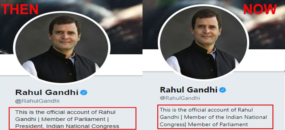 Rahul Gandhi said that while it was important for someone new to lead the Congress,
