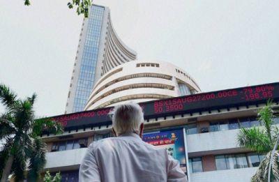 Budget Day: Sensex cracks 395 points; metal, power stocks sink