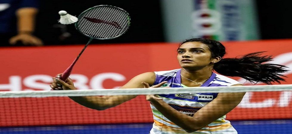 PV Sindhu overcame a spirired performance from Tai Tzu Ying to enter the semi-final of the World Badminton Championship. (Image credit: Twitter)