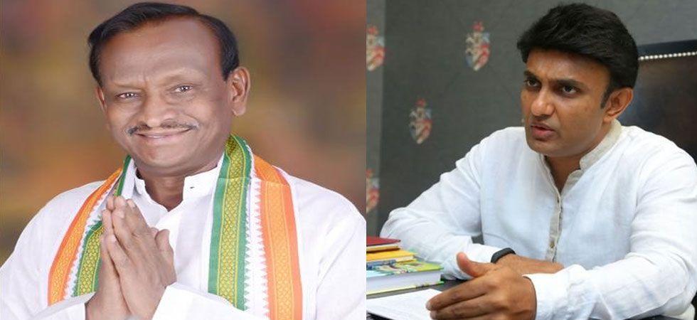 MTB Nagraj (left) and Dr Sudhakar (right)
